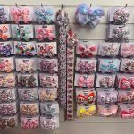 hair clips and bows